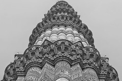 QUTB Minar - The UNESCO Heritage - As seen by me (@nikondxfx (instagram)) Tags: 2017 architecture delhi delhigram handheld march nikkor nikon nikond750 nofilter raw tamron beautiful beauty heritage hobby nature passion photography structure pov perspectives angle composition intricate details brick blackandwhite monochrome