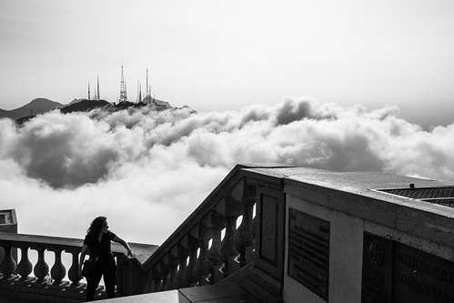 Rio in the clouds