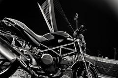 Ducati monster (fabrizio del prete) Tags: ducati monster dark 600 carburatore motociclistabike