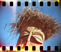 Tiki (No Stone Unturned Photography) Tags: instamatic kodak sprocket holes lomography lomo light leaks x35f modified 35mm film hacked 126 ferrania 200 expired tiki