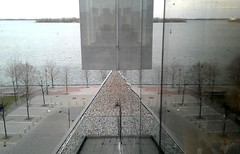 Equilibrium (Tomitheos) Tags: equity harmony tension antithesis correspondence counterbalance equivalence evenness hang parity proportion stasis symmetry even equilibrium engineering polarity duplicity dualism reflection architecture surrealism irrational juxtaposition subconscious avantgarde psychoanalysis imagination cube pyramid triangle square balance 2017 april illusion toronto invisible opticalillusion