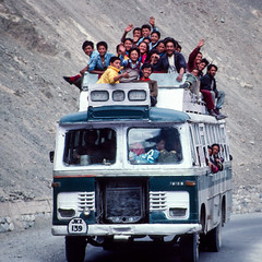 No Room ! (DP the snapper) Tags: kidderminsterctc bus kashmir smile ladakh cycletour petecroftstours