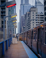 Step Up (CamGoodVideo) Tags: canon5d canon5dmarkiii chicago chitown downtownchicago thel train winter rain
