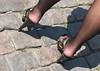 russian milf (coolest.heels) Tags: legs russiangirls highheels clogs highheelsmules fetish feetpain stockings blackstockings pantyhose footjob heelpopping pedalpumping dangling dipping ladies milf