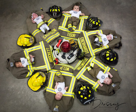 Parenting also is contagious: some firefighters welcomed six babies in seven months