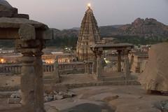 Virupaksha Temple (JohnMawer) Tags: hampi karnataka india in rock scenery vijayanagaraempire