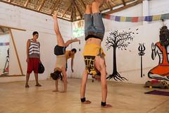 Mazunte town yoga