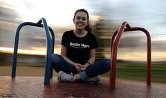 Smile More (disgruntledbaker1) Tags: panning disgruntledbaker more smile