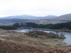 8649  Glen Garry scenery (Andy - Busyyyyyyyyy) Tags: 20170319 ccc clouds ggg glengarry mmm mountains scotland water www