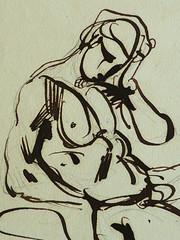 DELACROIX Eugène - Homme étendu, Homme nu assis, Etudes (drawing, dessin, disegno-Louvre RF10617) - Detail 24 (L'art au présent) Tags: drawing dessins dessin disegno personnage figure figures people personnes art painter peintre details détail détails detalles 19th 19e dessins19e 19thcenturydrawing 19thcentury detailsofdrawing croquis étude study sketch sketches frenchpaintings peinturefrançaise frenchpainters peintresfrançais louvre museum paris eugènedelacroix eugène delacroix france pose model man men nu nude naked nudity nudité bare nakedman nakedmen hommenu numasculin romantic romantique romantisme romanticism romance