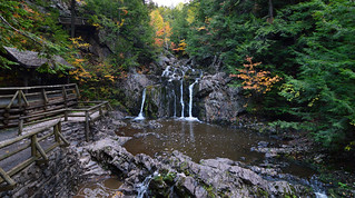 Autumn Morning at Joseph Howe Falls