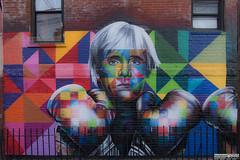 """Fight For Street Art"" by Brazilian artist Eduardo Kobra (Franco Folini) Tags: all nyc newyork newyorkcity ny thebigapple murals graffiti streetart urbanart wallart art arte arteurbana murali ""fight for street art"" eduardokobra"