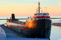 William G. Mather (Thom Sheridan) Tags: thomsheridan greatlakes lakeerie cleveland 2017 northcoast harbor boat barge clevelandcliffs ship