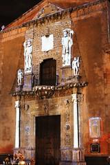"""Sound and light show """"Conq. to the Memory of Tanicho"""" - Casa de Montejo - Merida, Mexico (Dis da fi we (was Hickatee)) Tags: soundandlightshow""""conqtothememoryoftanicho""""casademontejomerida mexico merida sound light"""