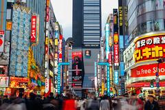 新宿 哥吉拉飯店|Hotel Gracery Shinjuku (里卡豆) Tags: 哥吉拉 olympus penf 新宿 25mm f12 pro 2512pro shinjuku 日本 關東 東京 東京都 東京市 japan tokyo city street