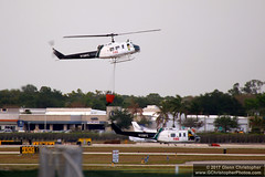 Fire Helicopter (naplesglenn) Tags: fire helicopter naples bell uh1 iroquois