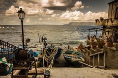 Scilla (paolotrapella) Tags: scilla calabria italia mare barche boat nuvole clouds cielo sky