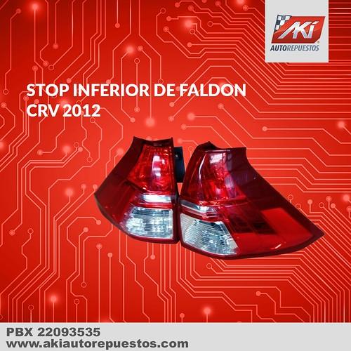 "Stops inferior de faldón Honda CRV <a style=""margin-left:10px; font-size:0.8em;"" href=""http://www.flickr.com/photos/141023675@N04/34077292311/"" target=""_blank"">@flickr</a>"