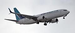 Westjet (D70) Tags: westjet boeing 737800 cfwvj approaching yvr sigma 150600mm f563 contemporary tc1401 teleconverter aircraft december 2011