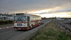 Preserved Citybus RE. (Phill_129) Tags: citybus belfast bristol rell 2481 xoi alexandee alexander x type bus buses dusk scene northern sunset ireland ards preservation group