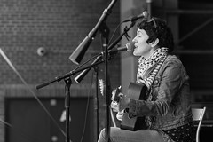 Misty Lyn (jhwill) Tags: vscofilm 85mm14gm blackandwhite gm 85mm blackwhite sony michigan livemusic rockthedistrict monochrome event annarbor concert portrait a7rii bw music mistylyn performer