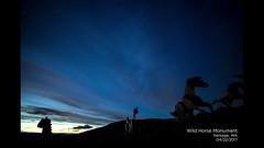 Wild Horses Timelapse (trismi) Tags: sony timelapse nightsky wildhorsesmonument horses statues night stars photography sky starry starrynight