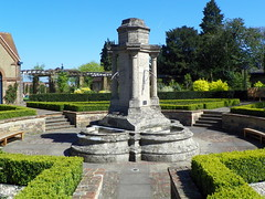 GOC Harrow Weald–Bushey 046: Monument/fountain in Bushey Rose Garden (Peter O'Connor aka anemoneprojectors) Tags: 2017 architecture building bushey busheyrosegarden england fountain garden gayoutdoorclub goc gocharrowweald–bushey gochertfordshire grade2listed grade2listedbuilding gradeiilisted gradeiilistedbuilding gradetwo gradetwolisted gradetwolistedbuilding hertfordshire hertfordshiregoc kodak kodakeasysharez981 listed listedbuilding monument outdoor rosegarden z981