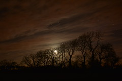 Moon (AntrimLens) Tags: trees ireland sky irish moon night clouds dark stars landscape antrim