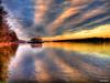 River ... (yui fan) Tags: sunset sky reflection clouds river sweden yacht شمس سماء غيوم انعكاس نهر يخت 500px السويد عبارة ifttt