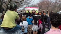 Watching Tamagawa Taiko (3/3) (Thiophene_Guy) Tags: park philadelphia festival cherry dance audience blossom drum sunday pa corps subaru sakura philly taiko fairmount spectators matsuri sakuramatsuri fairmountpark tamagawa 2014 cherryblossomfestival  sakurasunday originalworks xs1  fujifilmxs1 apr2014