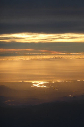 Sonnenaufgang über Australien