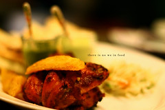 """there is no #we in #food"" (shadman ali) Tags: summer food blur chicken canon eos 50mm cafe dof bokeh potato foodporn dhaka t3 grilled bangladesh shadman wedges uttara 1100d canoneos1100d canon1100d shadmanali"