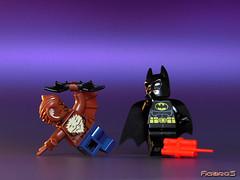 LEGO BATMAN vs MAN-BAT 3/9 (COLLECTOR FIGURES) Tags: lego batman vs manbat