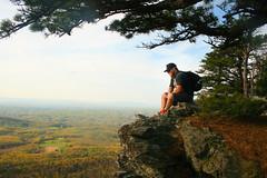 Cliff (Trevor McGoldrick) Tags: park mountains nature rock spring state trevor north brandon carolina hanging danbury mcgoldrick duggins