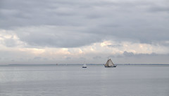 serenity (leuntje) Tags: netherlands day cloudy marken tjalk ijsselmeer volendam edam sailingboat markermeer gouwzee zeilklipper sailingclipper