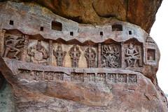 India - Karnataka - Badami Caves - 025 (asienman) Tags: india architecture caves karnataka badami chalukyas vatapi asienmanphotography