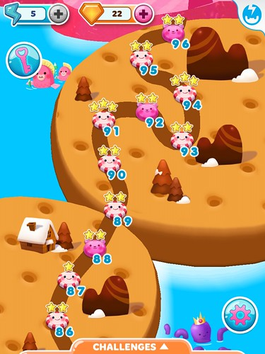 Candy Blast Mania Level Selection: screenshots, UI