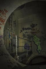 Toadie (darkday.) Tags: urban underground concrete graffiti risk extreme australian australia brisbane drain explore urbanexploration infiltration qld queensland ladder aussie exploration hacking stormdrain ue urbex queenslander toadie rcp