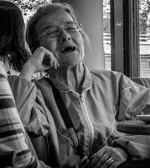 Tickled (Back from Espana......) Tags: leica old woman lady laughing happy happiness laugh oldlady oldwoman laughter wrinkles oldage leicac