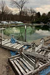 Pool Pose (Aging Gracefully) Tags: mountains abandoned pool carpet hotel honeymoon heart outdoor pennsylvania decay haunted resort pa tub shag ue urbex pocono