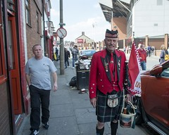 Anfield Piper (the underlord) Tags: liverpool piper bagpipes footballmatch liverpoolfootballclub premierleague