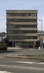 Argyll House & Waverley House, Dundee, Scotland (SpaceLightOrder) Tags: architecture concrete scotland office dundee angus modernism offices waverleyhouse argyllhouse