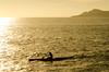 Toward the Sun (Justin Ornellas) Tags: justin sunset art silhouette hawaii paddle retro canoe hawaiian portlock ornellas ornellaswouldgo