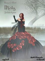 Morgane's shoot - Misty (Morgane Batista) Tags: life fashion misty photoshoot avatar foggy sl virtual mysterious second vendor sue poses morgane batista moonwall