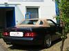 Mercedes SL 129 Cabriolet beiges Verdeck von CK-Cabrio bei Fa. Berns