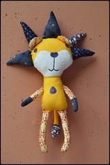 Lev za Leva (inapuzova) Tags: david toy dolls pattern gray lion softie butler plushie tina parson daydreams givens