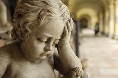 Trauriger Engel (rocketfall) Tags: friedhof salzburg graveyard angel austria österreich may unesco mai engel barock worldheritage weltkulturerbe 2014 unescoweltkulturerbe
