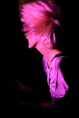 TYING TIFFANY 03  stefano masselli (stefano masselli) Tags: italy music girl rock concert live milano band electronic tiffany tying stefano palstic masselli