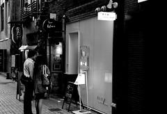 cle_sonnar50 (4) (hiro.nk) Tags: street blackandwhite bw white black film apple japan tokyo aperture iso400 super negative xp2 analogue ilford monocrome