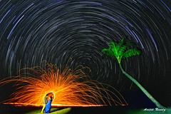 Star Trail+Wool+Couple (AvijitNandy) Tags: